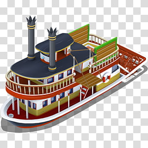Riverboat PNG clipart images free download.