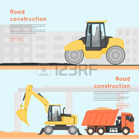 29,666 Road Construction Stock Vector Illustration And Royalty.