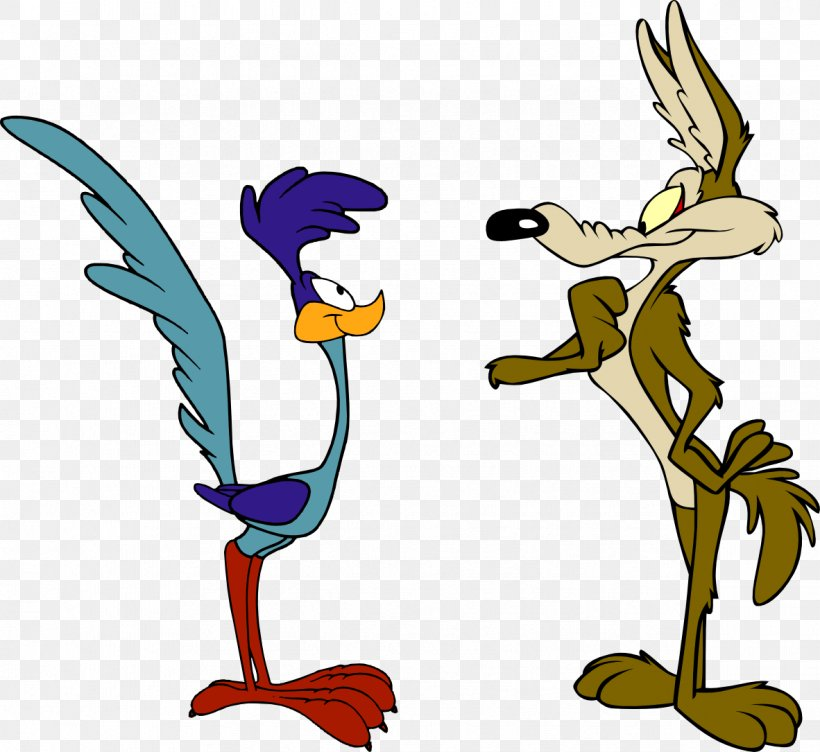 Wile E. Coyote And The Road Runner Looney Tunes Cartoon, PNG.