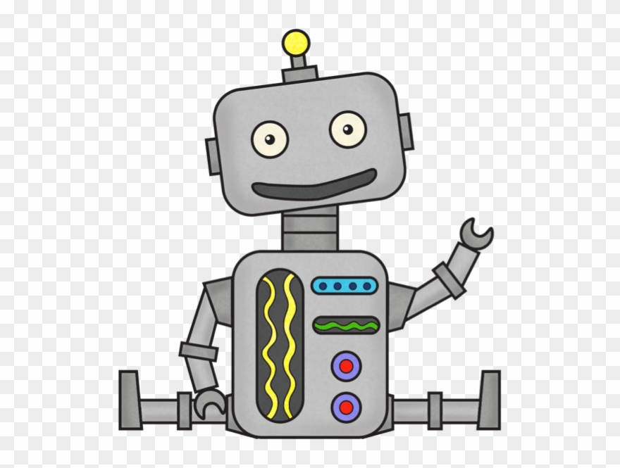 Cute Robot Clipart 3 By Tara.