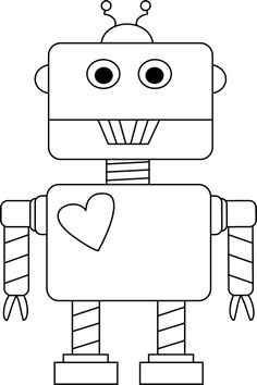 Robot Printable Cut outs.