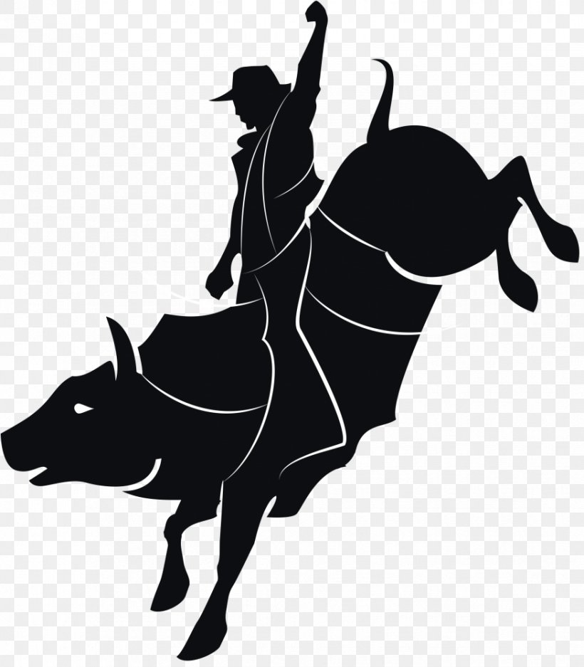 Bull Riding Vector Graphics Clip Art Rodeo, PNG, 875x1000px.
