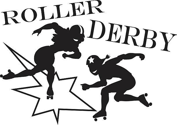 Best Roller Derby Illustrations, Royalty.