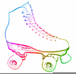 Rollerskating Clipart Free.