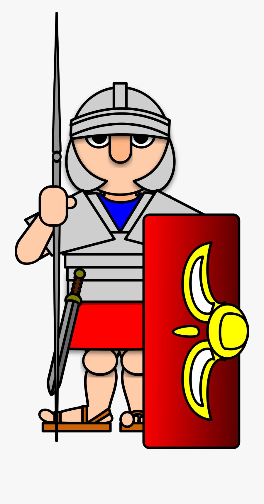 Roman Soldier Clipart , Free Transparent Clipart.