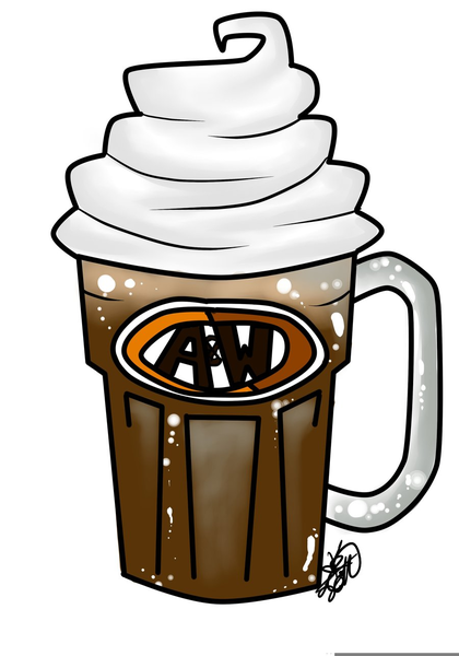 Free Root Beer Float Clipart.