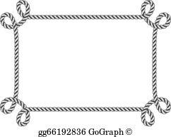 Rope Border Clip Art.