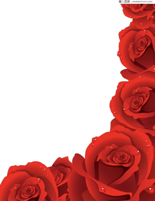 Roses borders free.