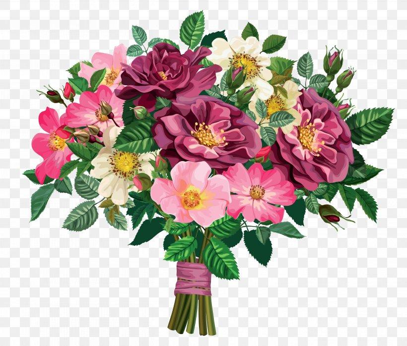 Flower Bouquet Clip Art, PNG, 5450x4643px, Flower Bouquet.