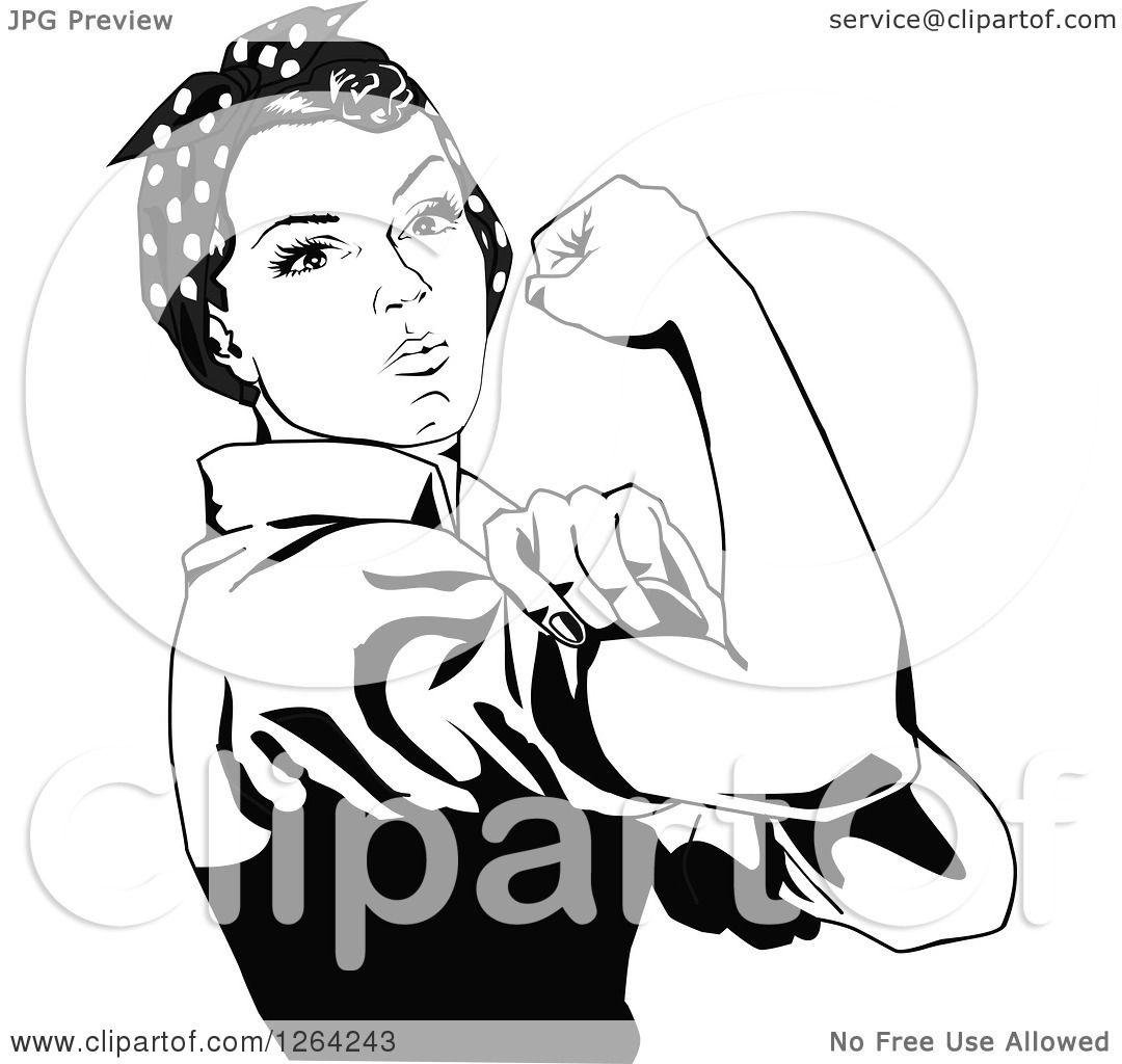 Free rosie the riveter clipart 3 » Clipart Station.