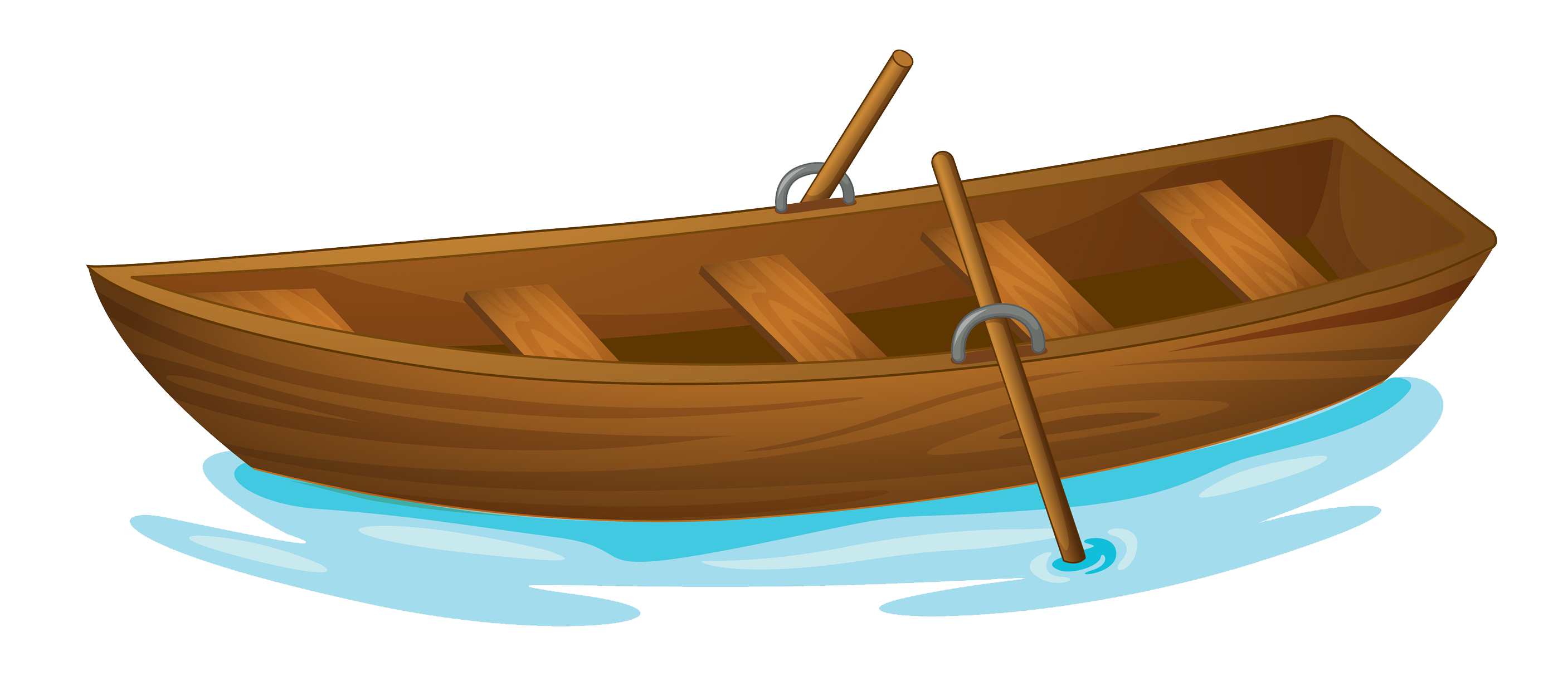 Row Boat Drawing.