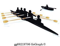 Rowing Clip Art.