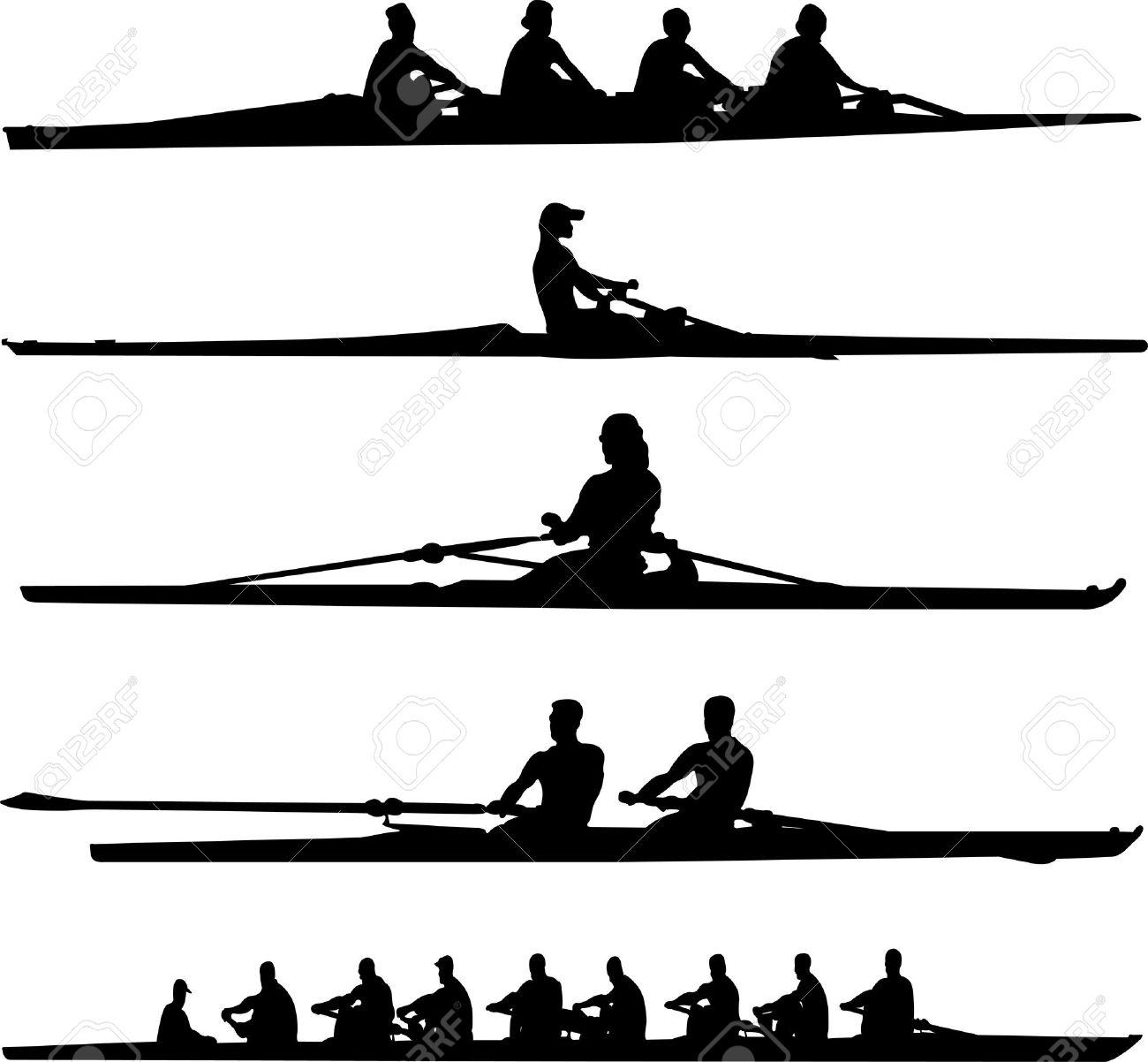 rowing set.