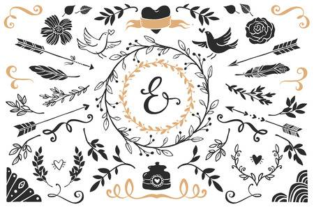 12,300 Rustic Wedding Cliparts, Stock Vector And Royalty Free Rustic.