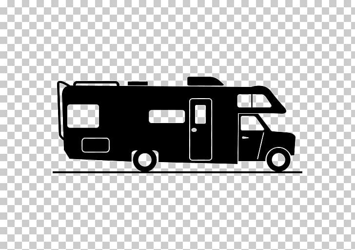 Caravan Campervans Motorhome, car PNG clipart.