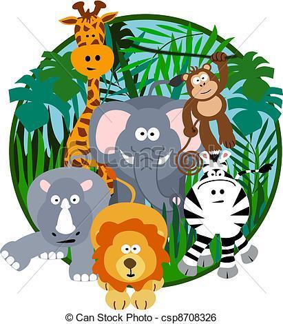 Free safari clipart images 3 » Clipart Portal.