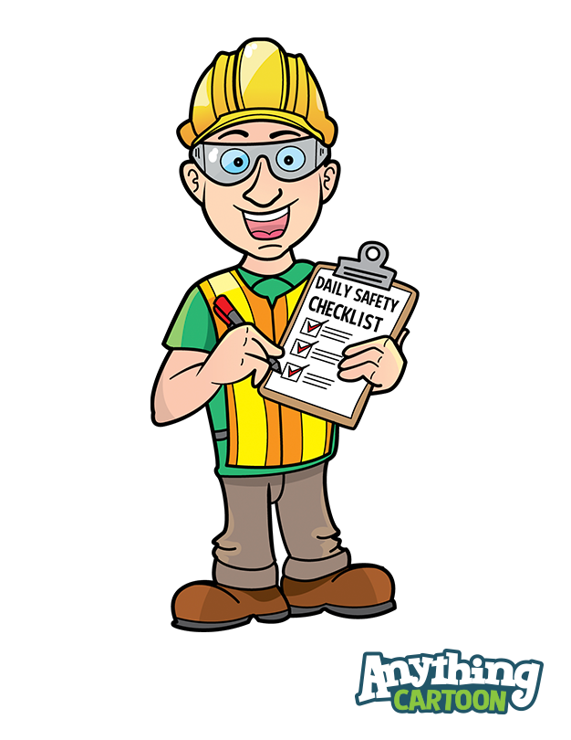 Free Safety Cartoon Posters And Safety Clipart.