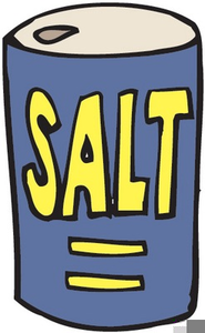 Box Salt Clipart.