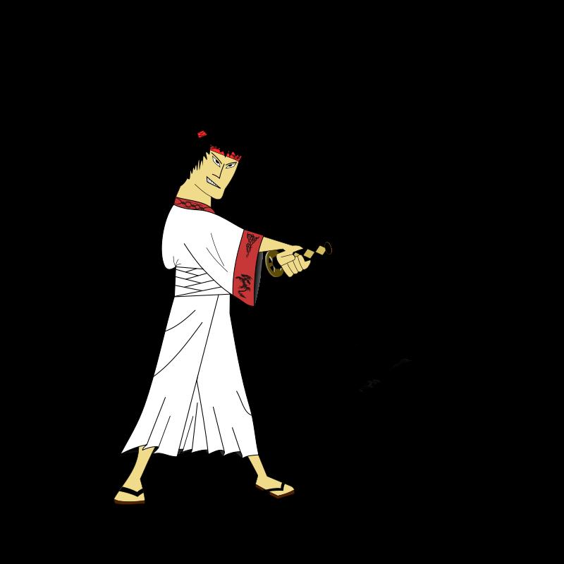 Free Clipart: Samurai.
