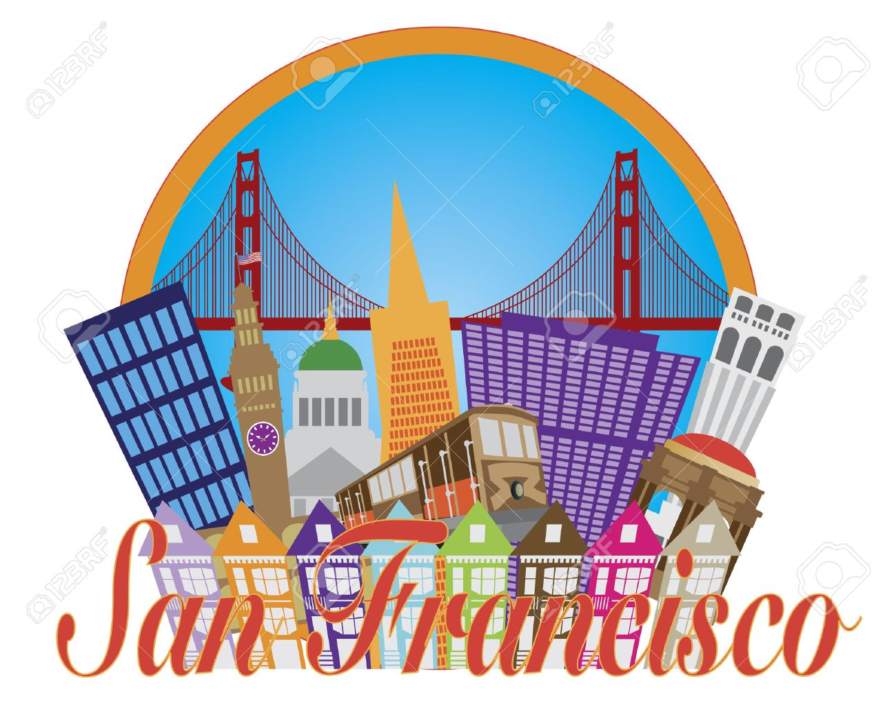 Free san francisco clipart 7 » Clipart Station.