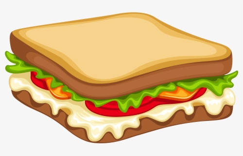 Free Sandwich Clip Art with No Background.