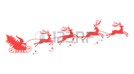 2,267 Flying Reindeer Cliparts, Stock Vector And Royalty Free.