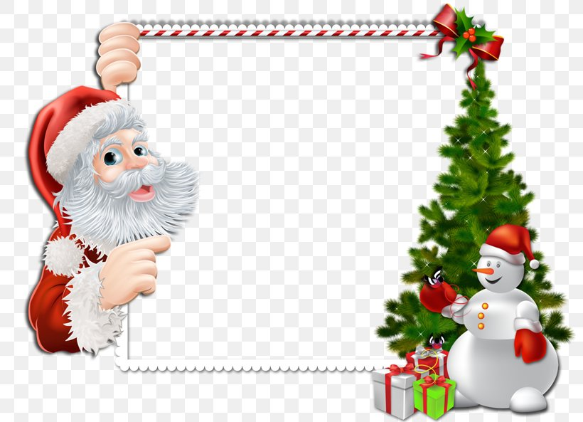 Santa Claus Borders And Frames Christmas Picture Frames Clip.