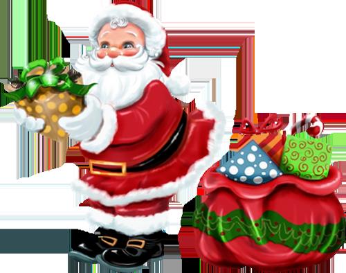 Free Clipart Santa Claus.