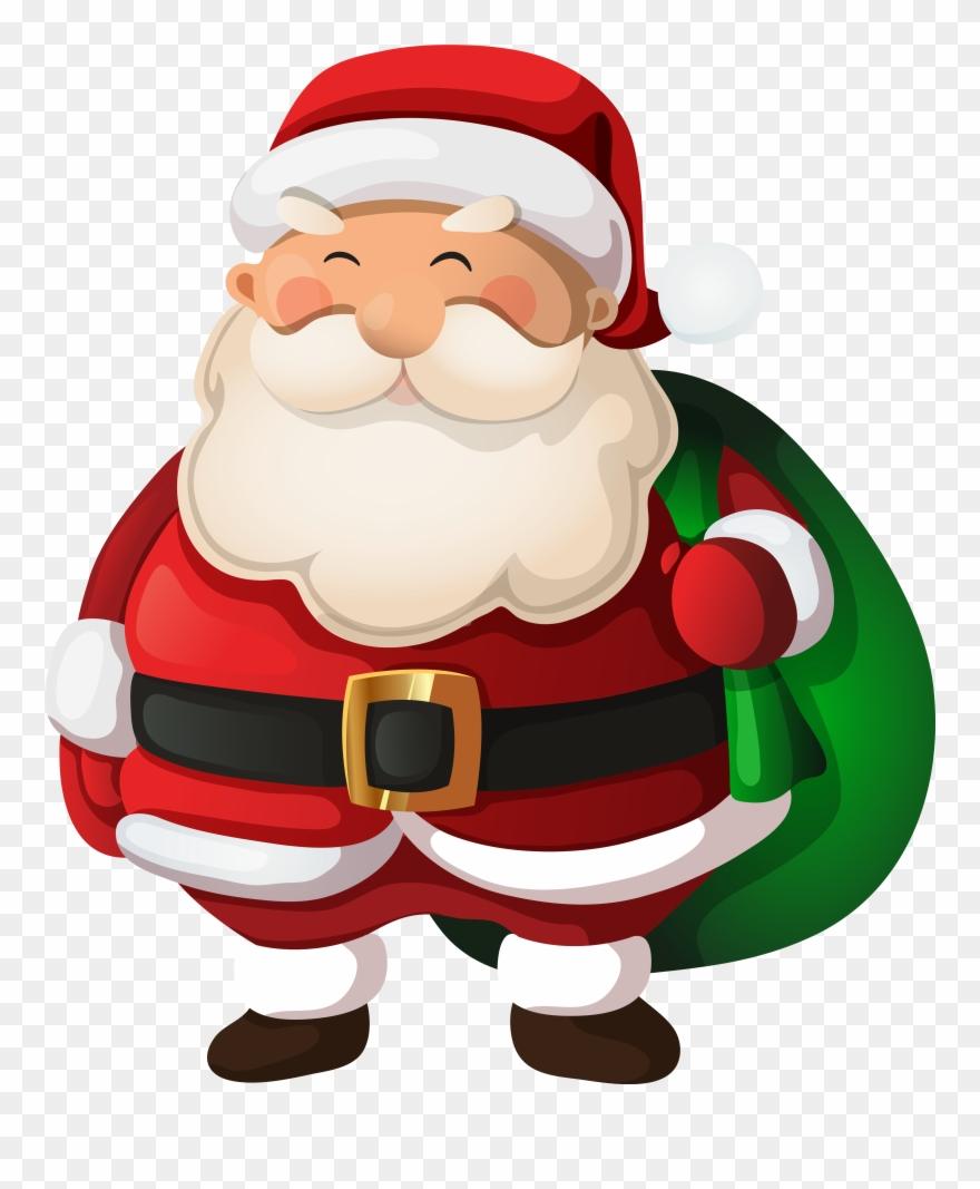 91 Santa Clip Art Images.