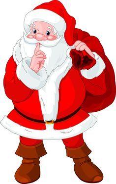 Image result for santa peeking around a wall cartoon images.