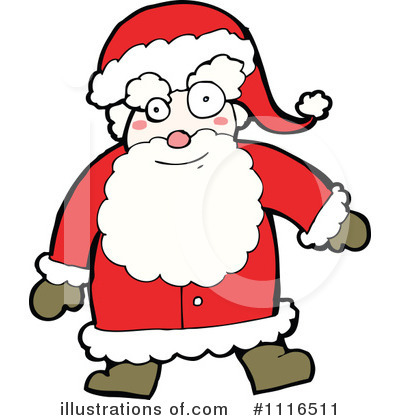 Santa Clipart #1117761.