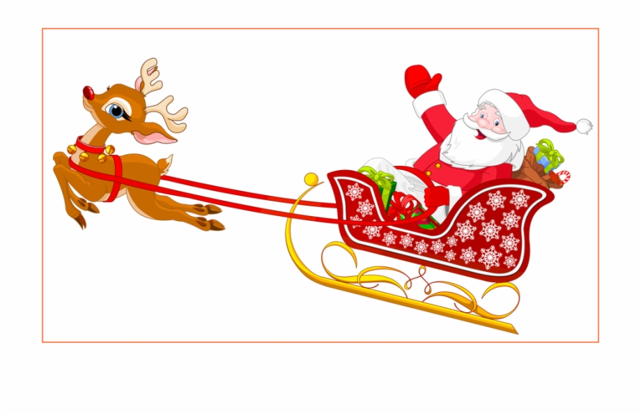Png Royalty Free Stock Amazing Santa And Reindeer With.