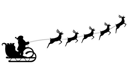 14,817 Santa Sleigh Stock Illustrations, Cliparts And Royalty Free.