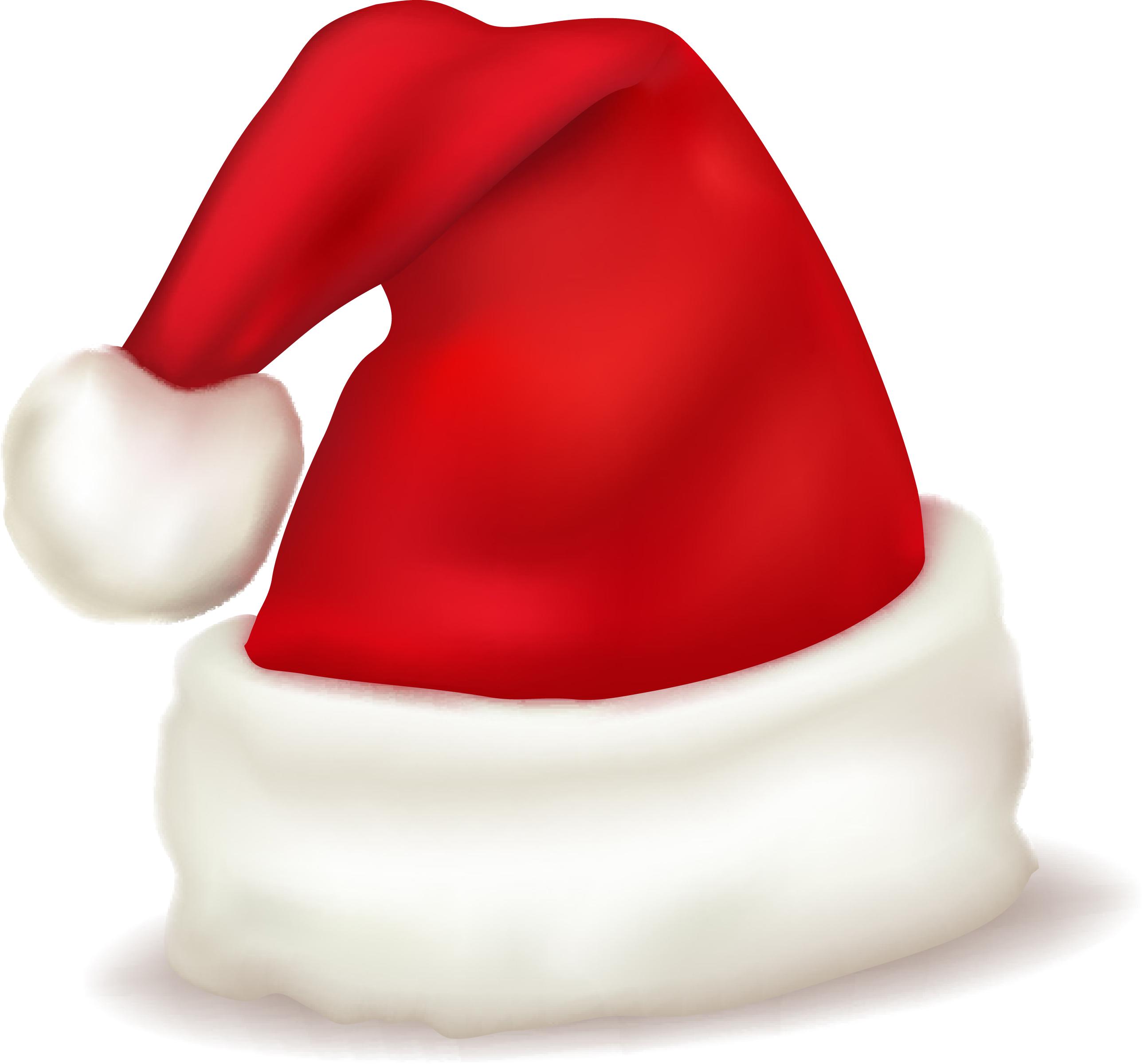 Christmas hats vector Free Vector / 4Vector.