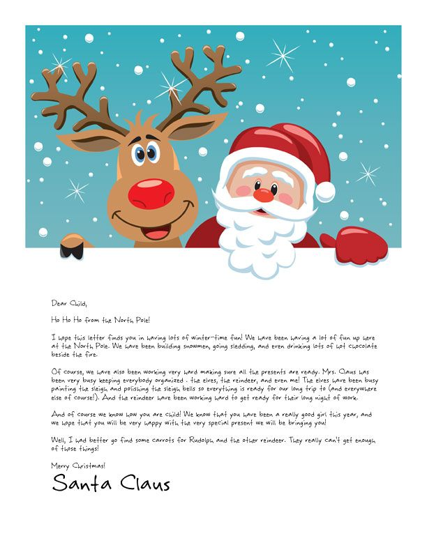 free santa letter clipart clipground