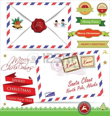 5,662 Santa Letter Cliparts, Stock Vector And Royalty Free Santa.