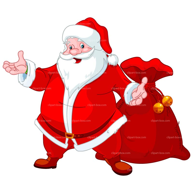 Santa Bag Clipart Free.