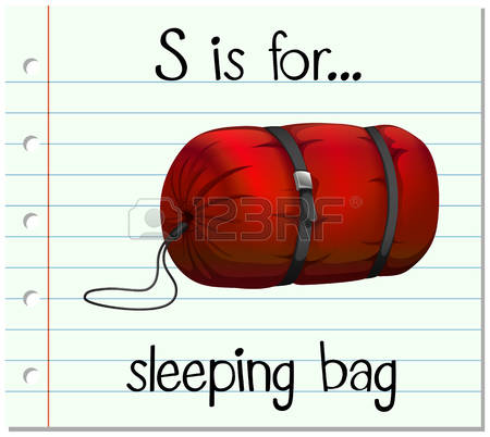 1,440 Sleeping Bag Stock Vector Illustration And Royalty Free.