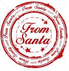 Image result for santa stamp envelope free printable.