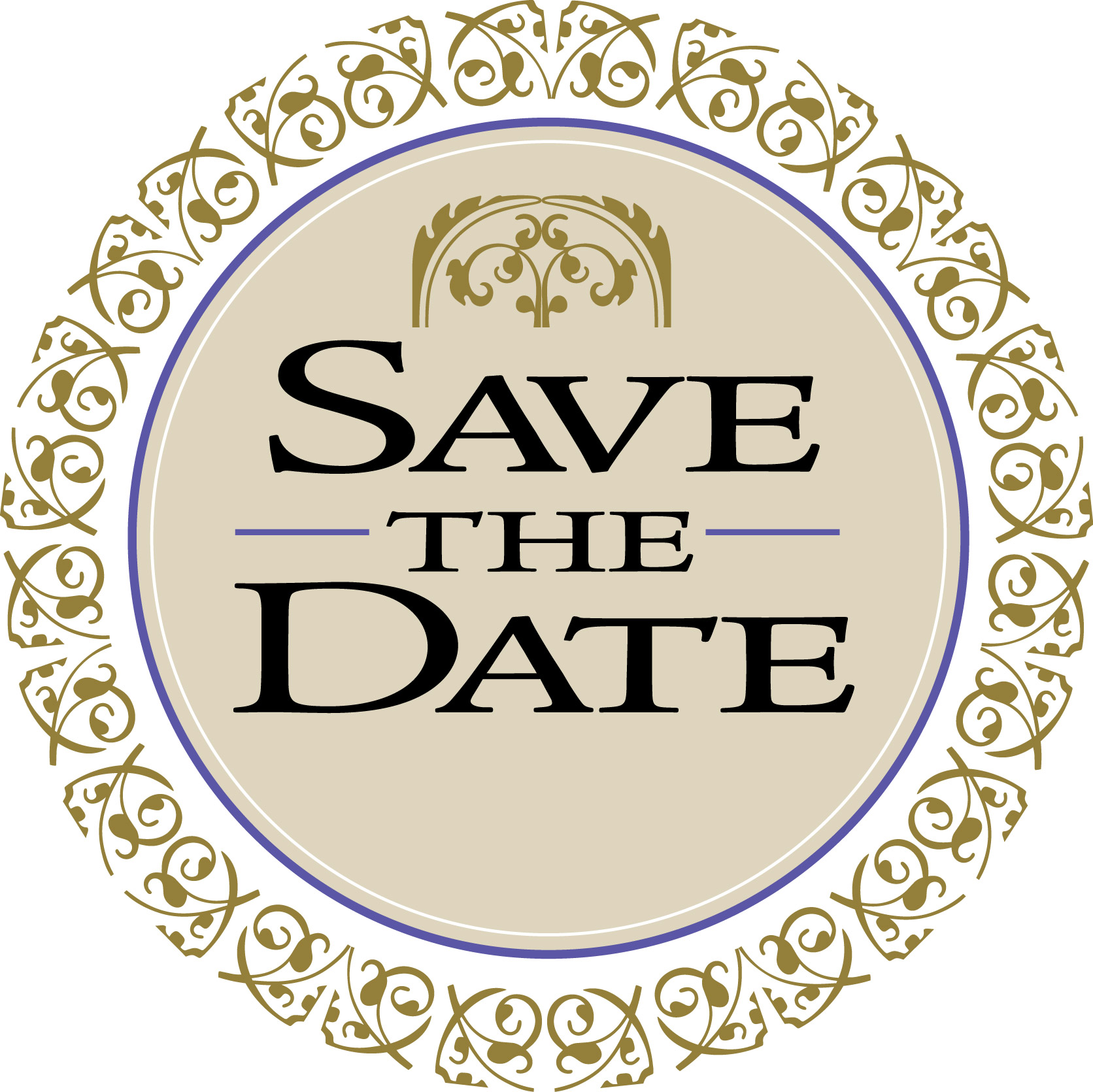 Free Save the Date Clipart.