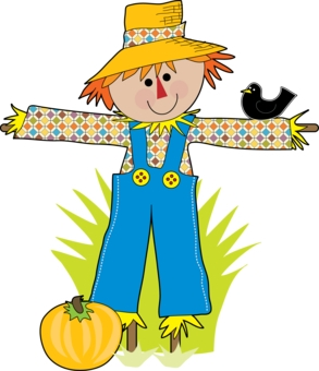 Simple Scarecrow Clipart.