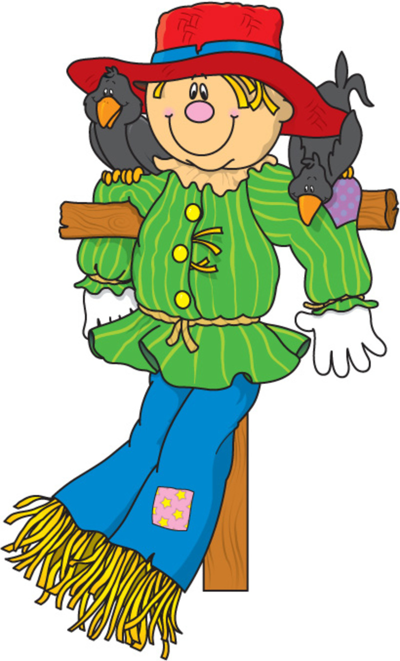 Scarecrow clip art for kids free clipart images 4.