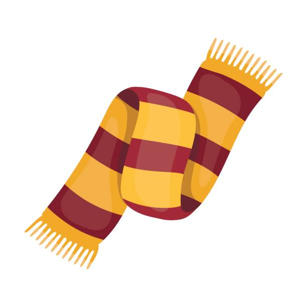 1339 Scarf free clipart.