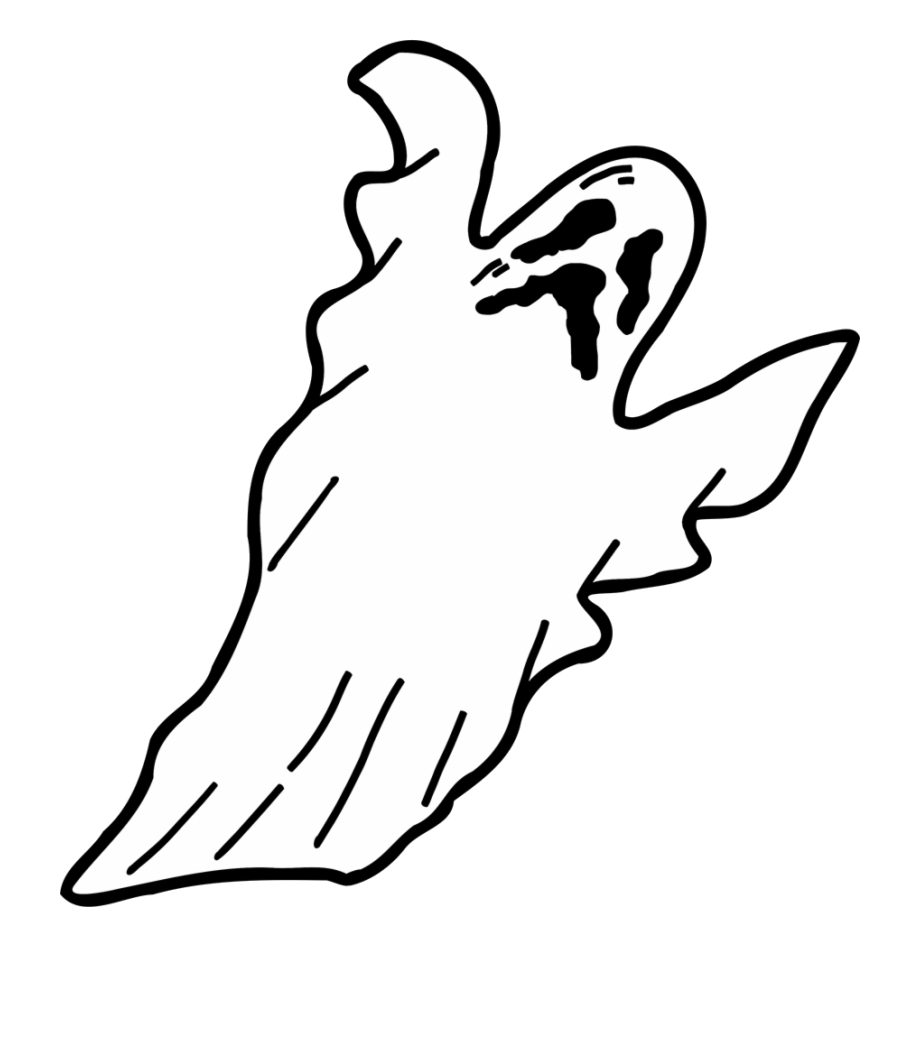 Ghost Scary For Halloween Spooky Clipart Free Images Png.