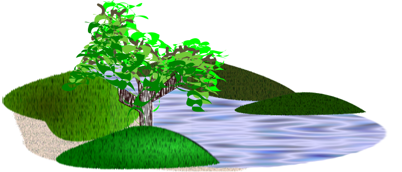 Free Clipart: Simple scenery.