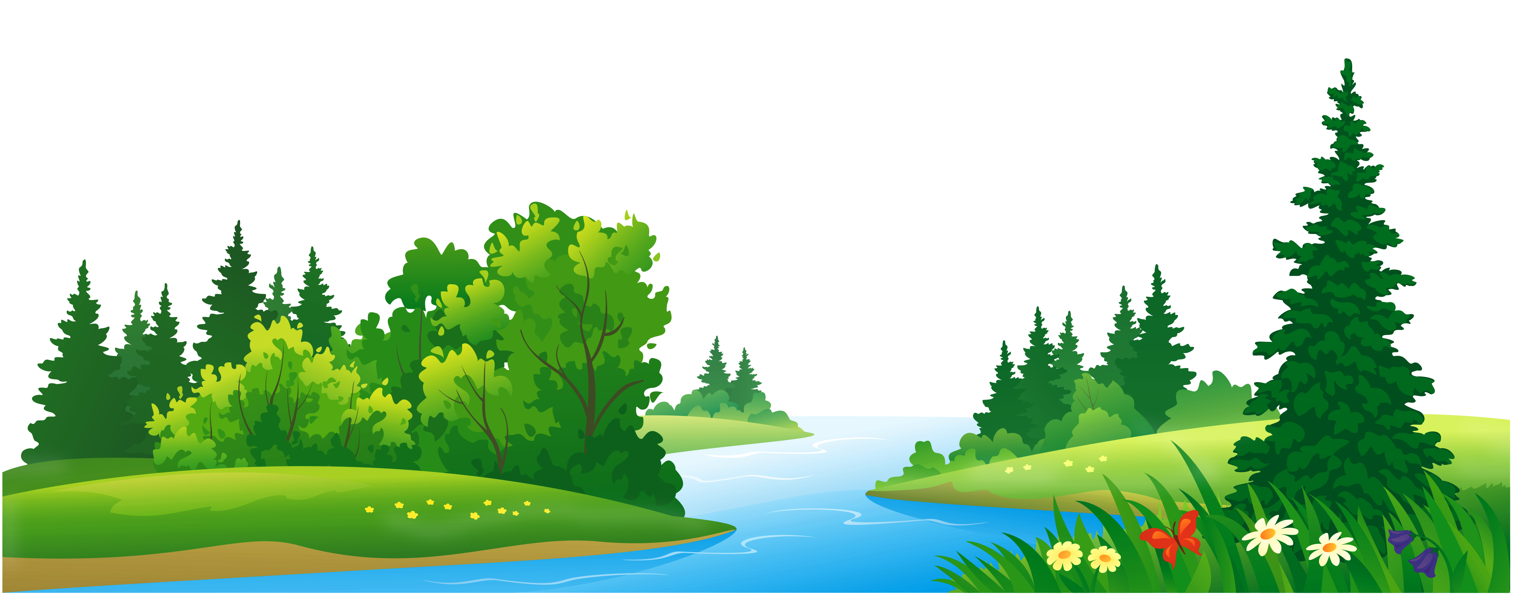 Scenery background clipart images gallery for free download.