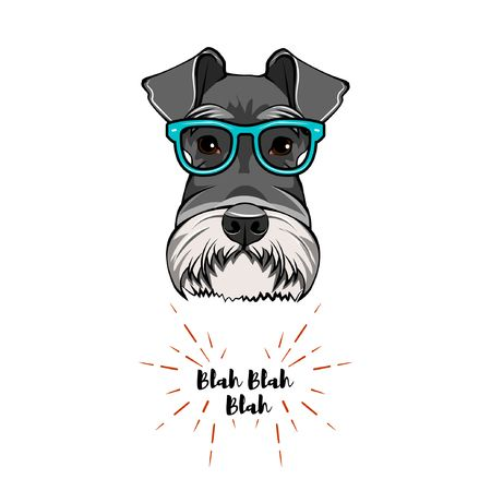 1,085 Schnauzer Stock Illustrations, Cliparts And Royalty Free.