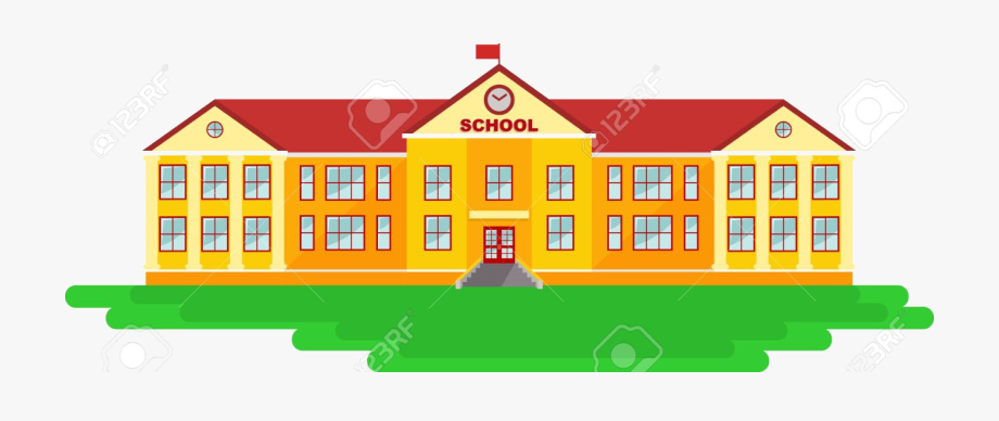 School Building Clipart Explore Pictures Transparent.