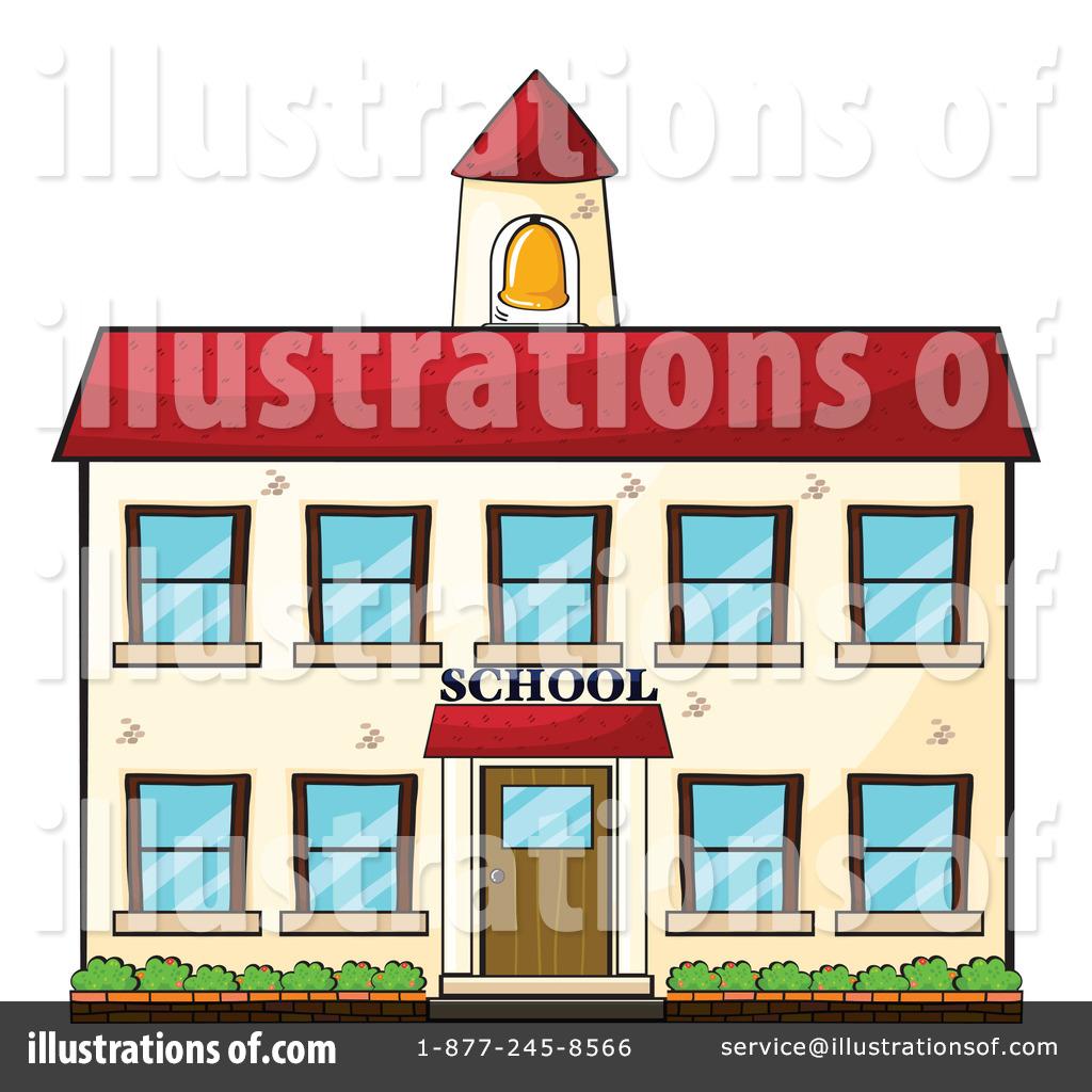 School Building Clipart #1158311.