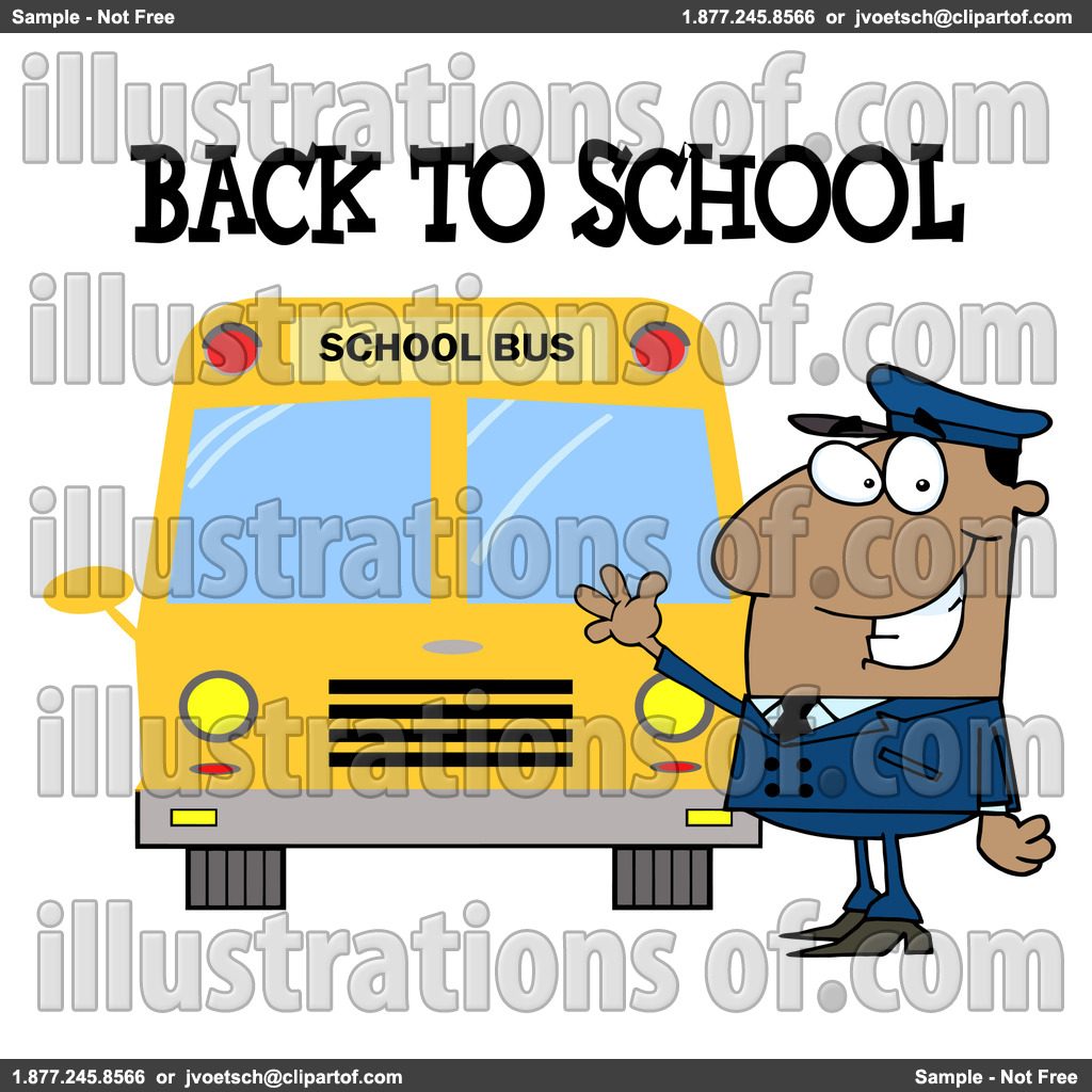 School Bus Driver Clip Art.